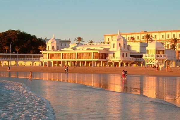 caleta beach cadiz andalusia