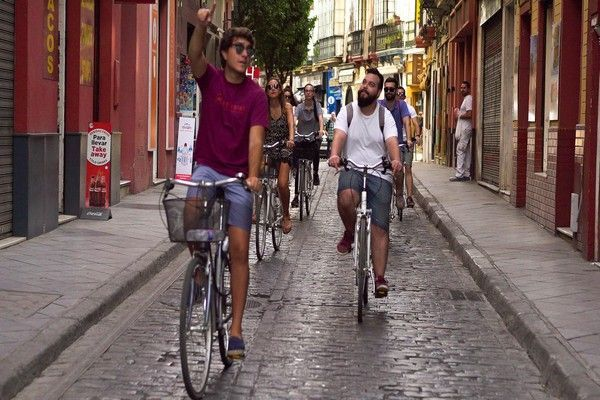 guided bike tour seville