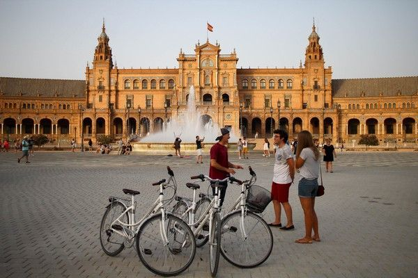 seville andalusia bike tour