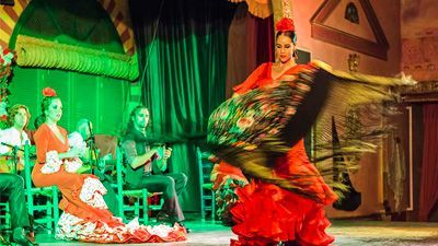 seville flamenco show palacio andaluz