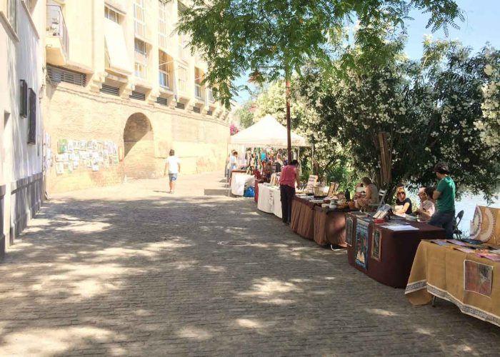 seville paseo de la o flea market