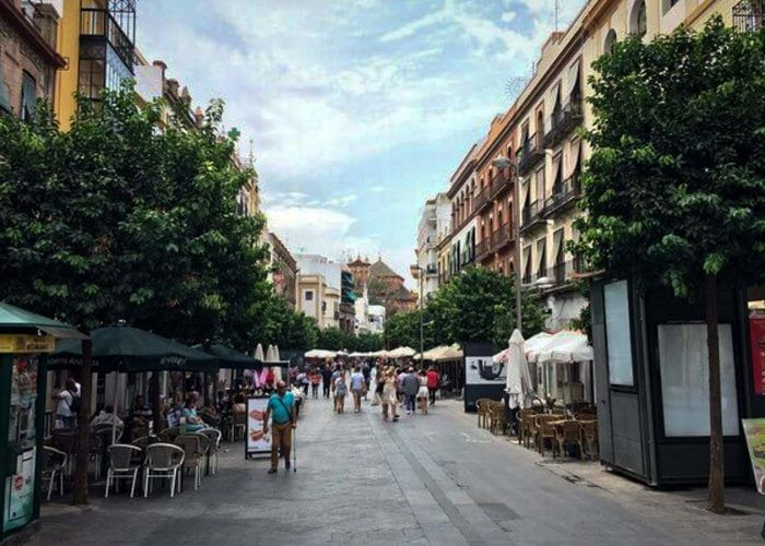 seville san jacinto shopping-street