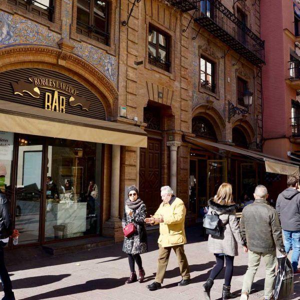 seville sierpes street