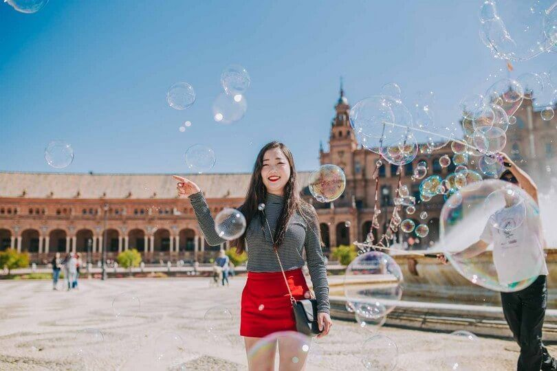 seville plaza espana photo shoot tour
