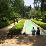 maria luisa park seville in 2 days